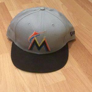 Miami Marlins Adjustable Cap
